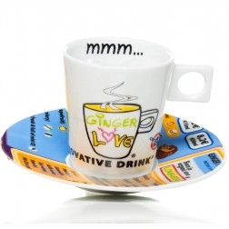 GingerLove Cup and Saucer