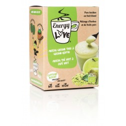 EnergyLove BIO : Matcha, Apple & Green Coffee Extract - Unsweetened